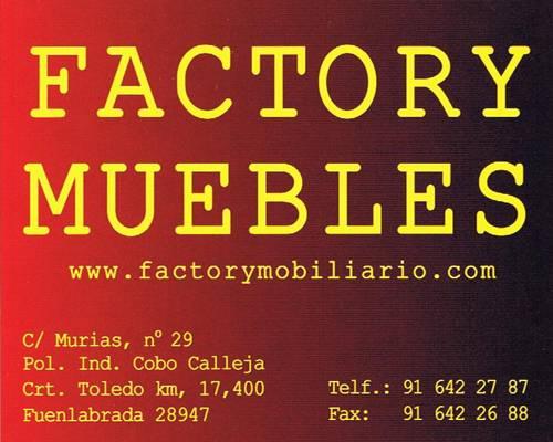 Factory muebles tiendas pol gono cobo calleja for Muebles cobo calleja
