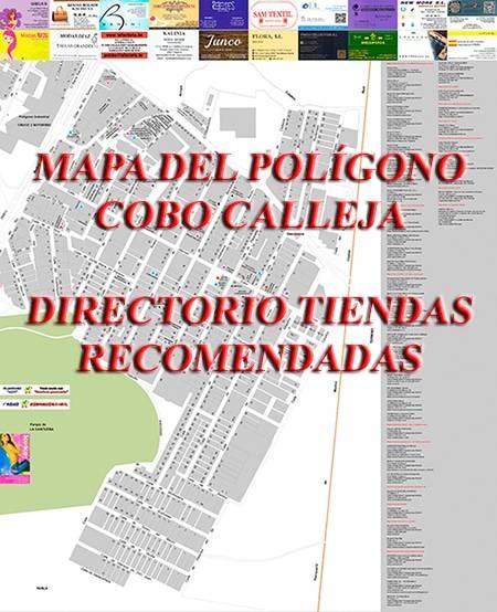 Descargar el mapa del Polígono Cobo Calleja