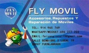Fly Móvil servicio técnico de reparación de teléfonos móviles