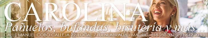 Carolina Pañuelos, Bufandas, Bisutería