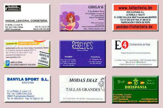 Tiendas españolas